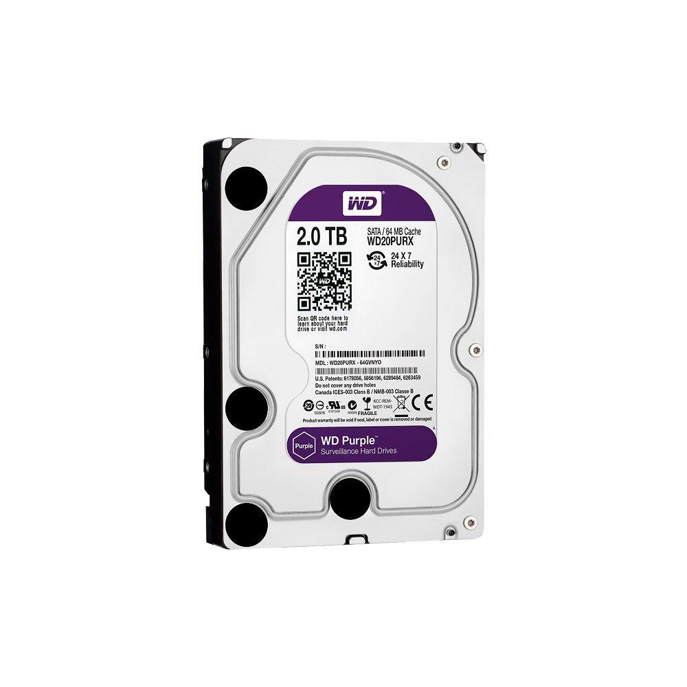 HD 1TB SATA III Western Digital Purple Surveillance WD10PURZ