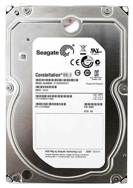 HD 3TB SATA III Seagate 64MB 7200RPM Constellation 24x7 ST33000651NS