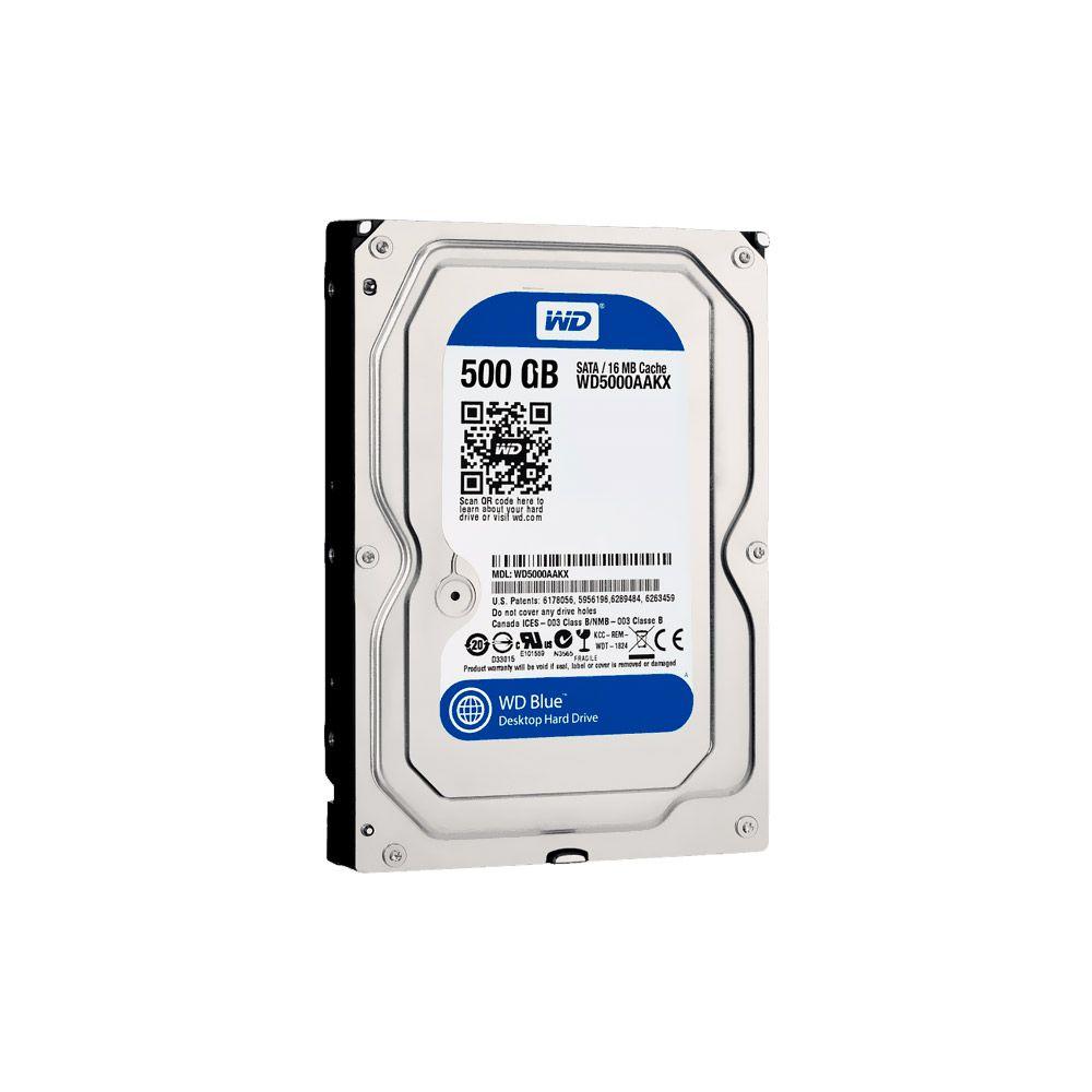 HD 500GB SATA III Western Digital 16MB 7200RPM WD5000AAKX