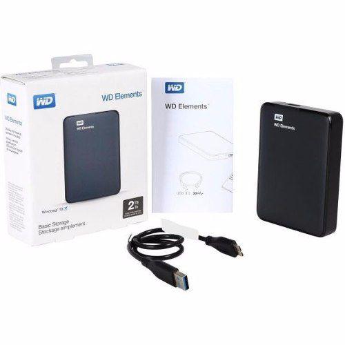 HD EXTERNO 2.0TB/TO USB 3.0 WESTERN DIGITAL PORTÁTIL