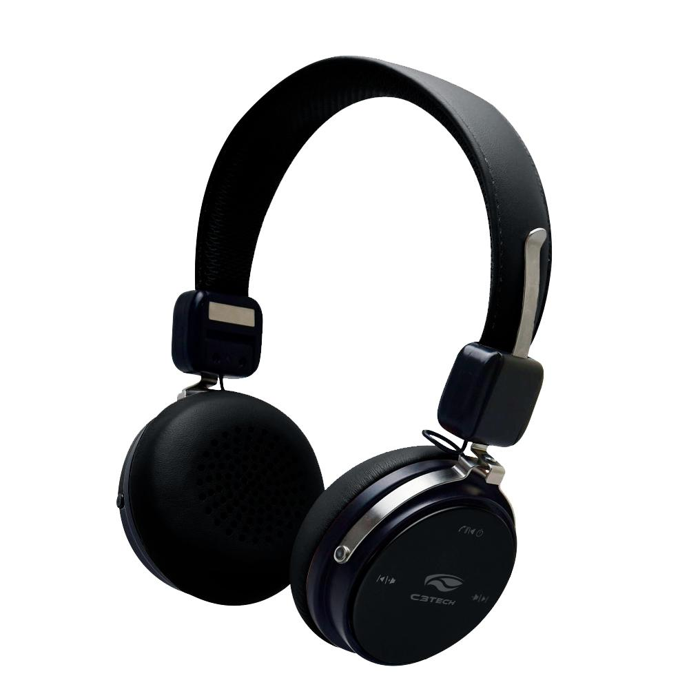 Headset C3 Tech Bluetooth 4.2 PH-B600BK Preto