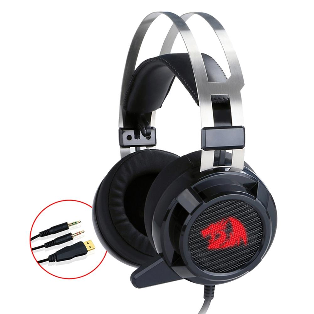 Headset Gamer Redragon Siren 2 USB, 7.1  H301 V2