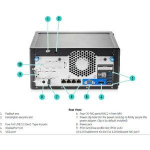 HPE MICROSERVER GEN10 1P E-2224 3.4GHZ 4-CORE S100I 4LFF-NHP - P16006-001