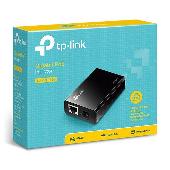 Injetor TP-Link POE TL-POE150S 4.0 IEEE 802.3AF