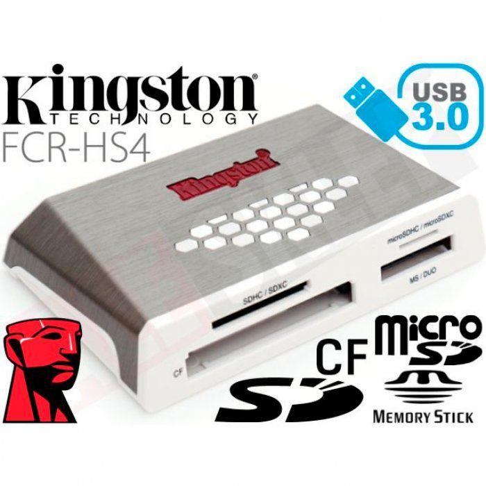 LEITOR DE CARTAO DE MEMORIA USB 3.0 FCRHS4