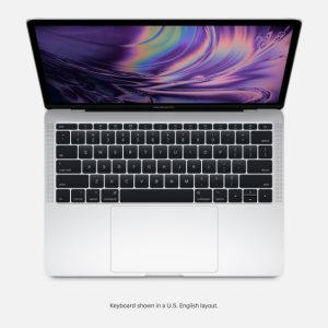 MBP 13 2.3GHZ 8GB 512GB PRATA TOUCH BAR E ID I5 - MR9V2BZ/A