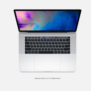 MBP 15 2.2GHZ 16GB 256GB PRATA RP555X TOUCH BAR E ID I7