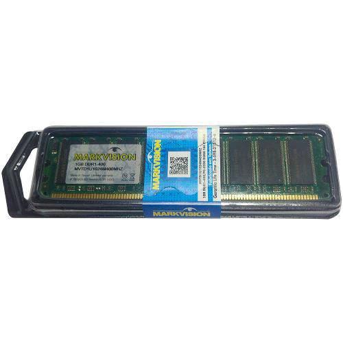 Memória 1GB DDR1 400MHZ DIMM MARK-MVTD1U1024M400MHZ -
