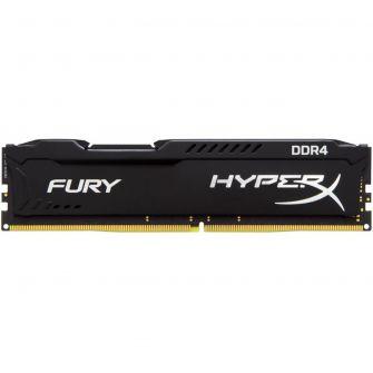 Memória Kingston 8GB DDR4 2400Mhz HyperX Fury CL15 HX424C15FB2/8 Black