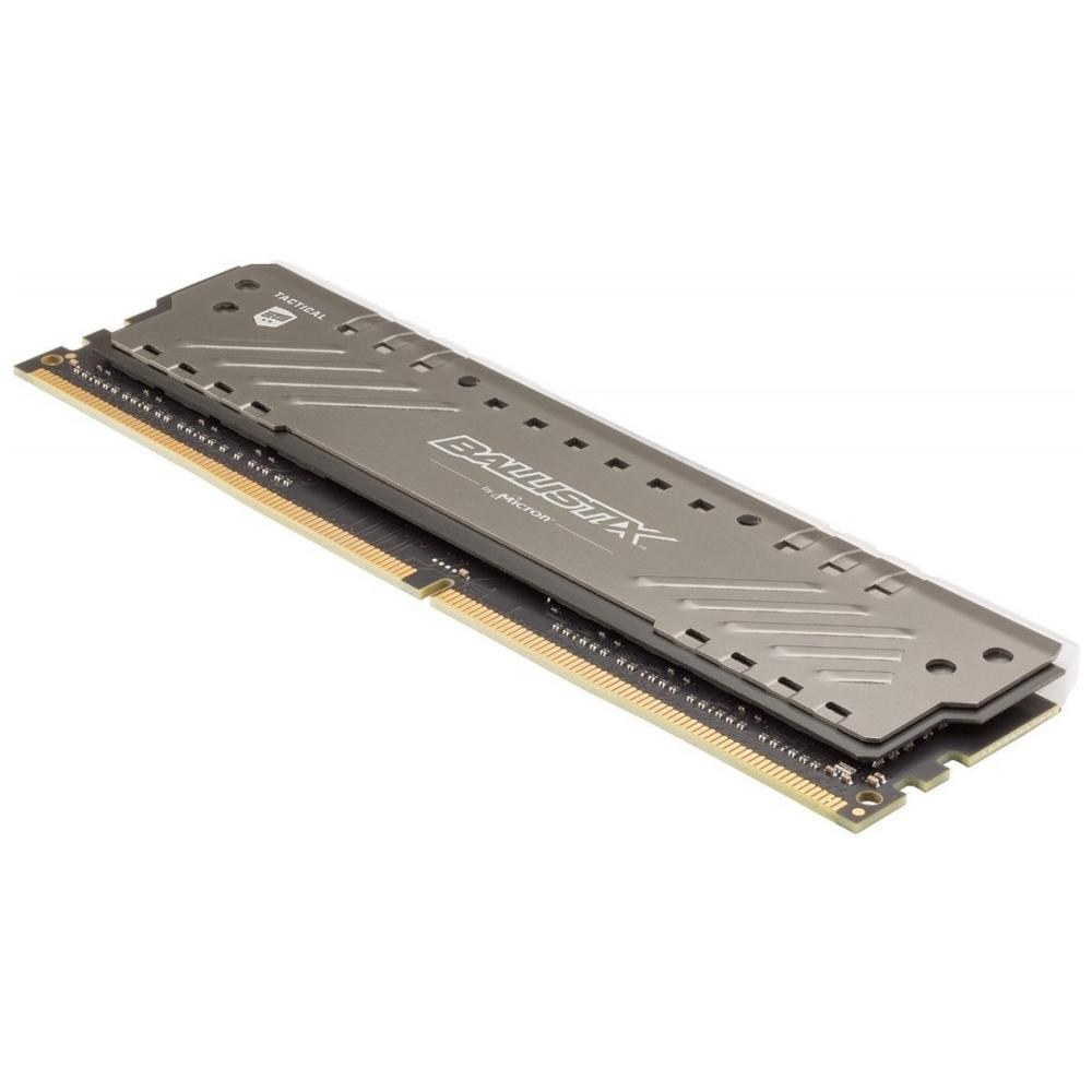 Memória 16GB D4 2666MHZ CRUC BALLIST TAC TRAC RGB CINZA BLT16G4D26BFT4