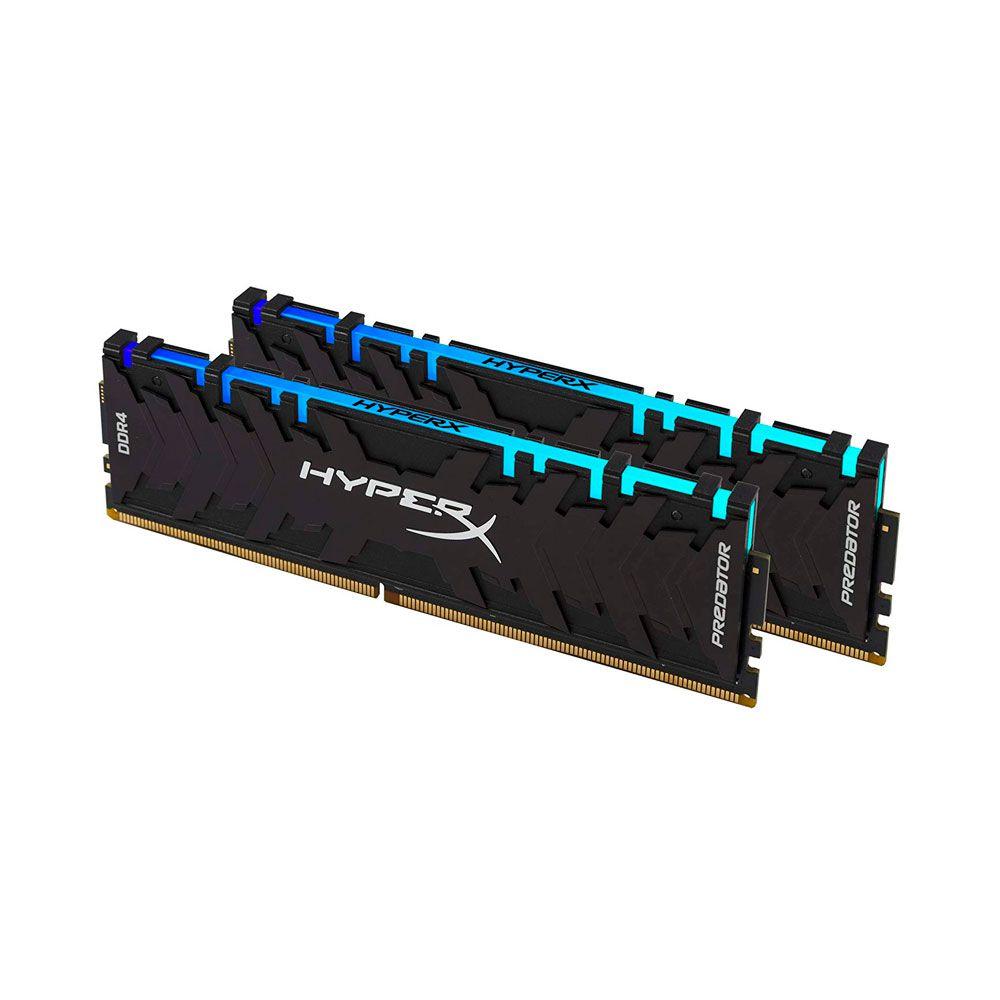 Memória 32GB (2X16Gb) 3200Mh RGB Hyperx - HX432C16PB3AK2/32