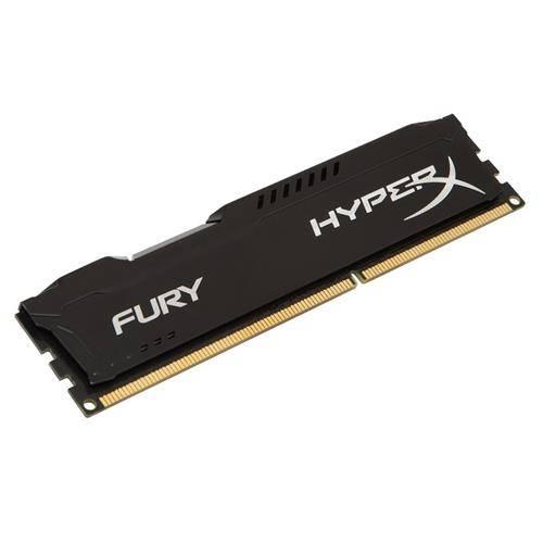 Memória 4GB DDR3 1866 Mhz Hyperx BLACK FURY Kingston - HX318C10FB/4