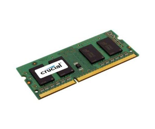 Memória 4GB DDR3L 1600 MHZ SODIMM CRUCIAL - CT51264BF160BJ -
