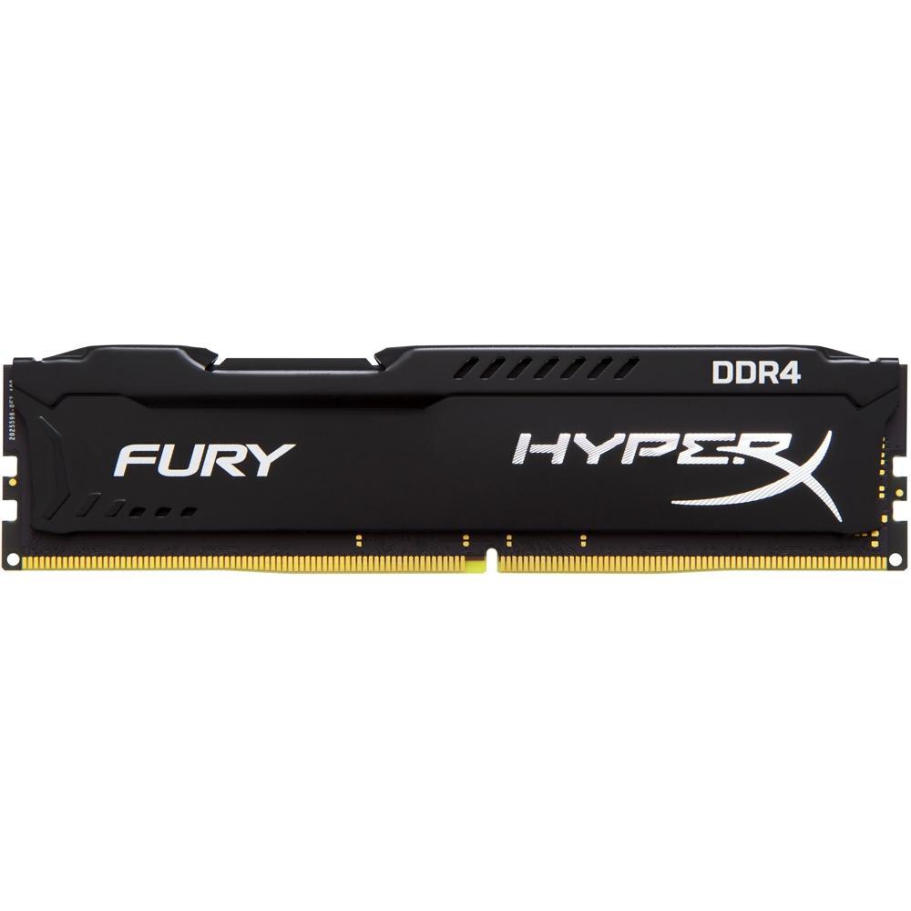 Memória Kingston 4GB DDR4 2666Mhz HyperX Fury CL15 HX426C15FB/4 Black