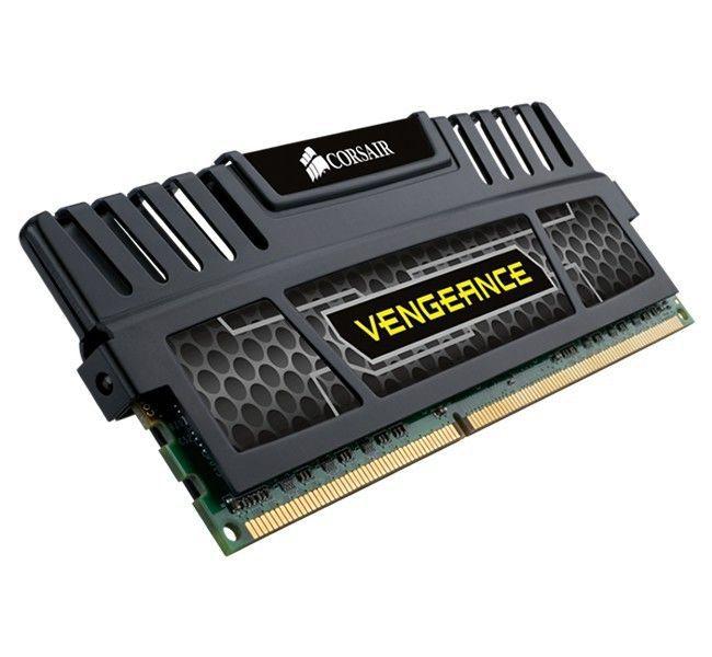 MEMORIA 8GB (1X8) DDR3 1600MHZ PRETA, CORSAIR VENGEANCE - CMZ8GX3M1A1600C10