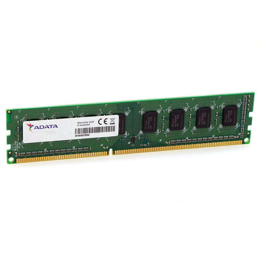Memória 4GB DDR3 1600Mhz CL11 Adata - AD3U1600W4G11-B -
