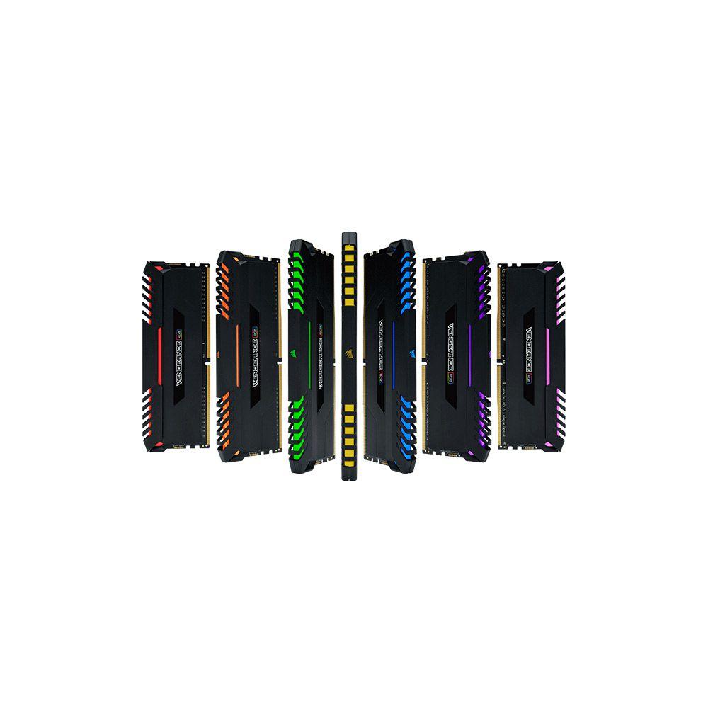 Memória  16GB DDR4 3200Mh Vengeance LED RGB Corsair - CMR16GX4M2C3200C16W