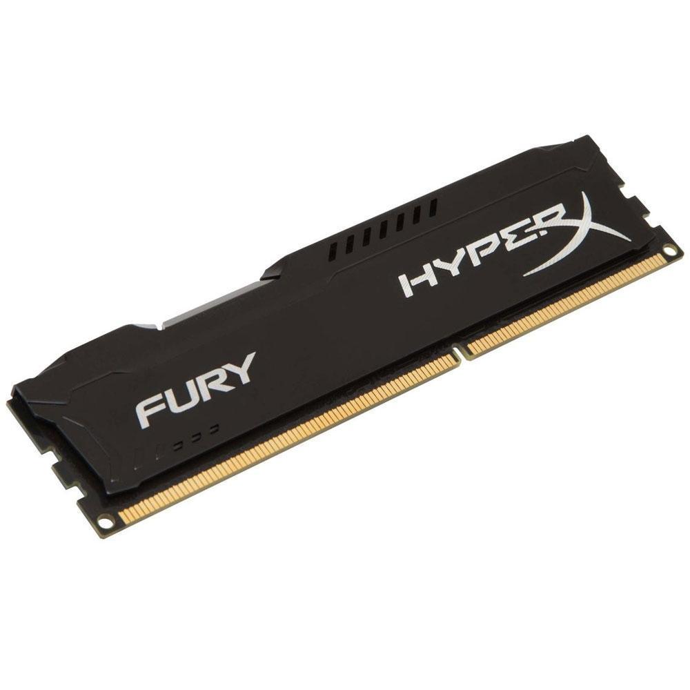 Memória Kingston 8GB DDR3 1600Mhz HyperX Fury CL10 HX316C10FB/8 Azul