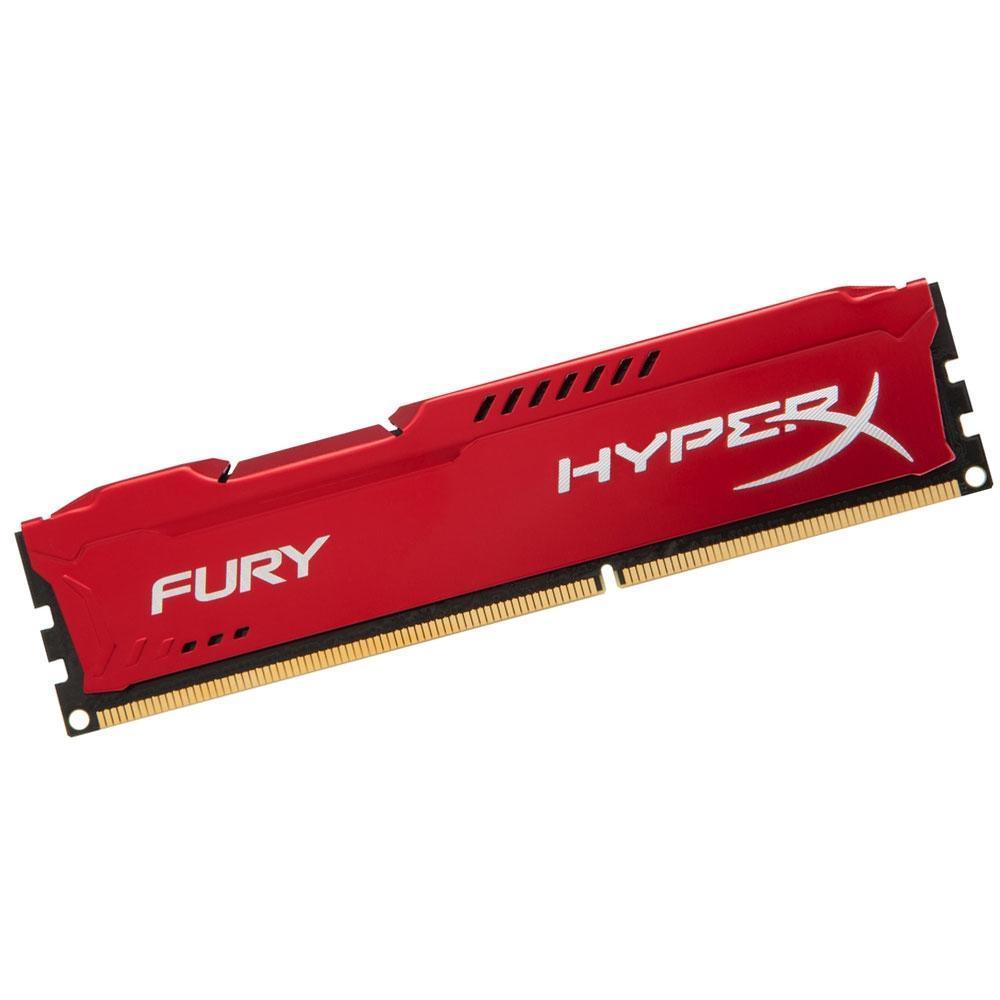 Memória 8GB DDR3 1600 Red Hyperx - HX316C10FR/8