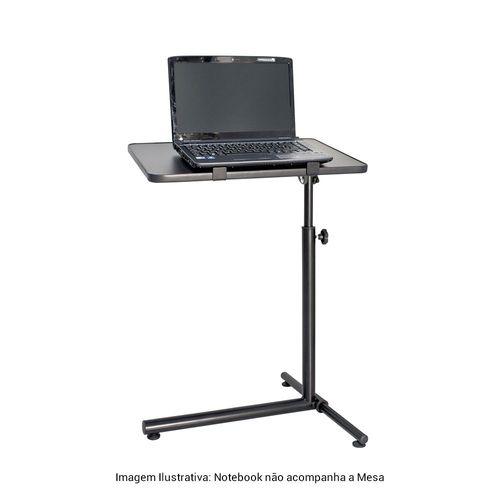 Mesa Ajustável para Notebook Multivisão NT Home Preto NT-HOME-PR - NT-HOME-PR