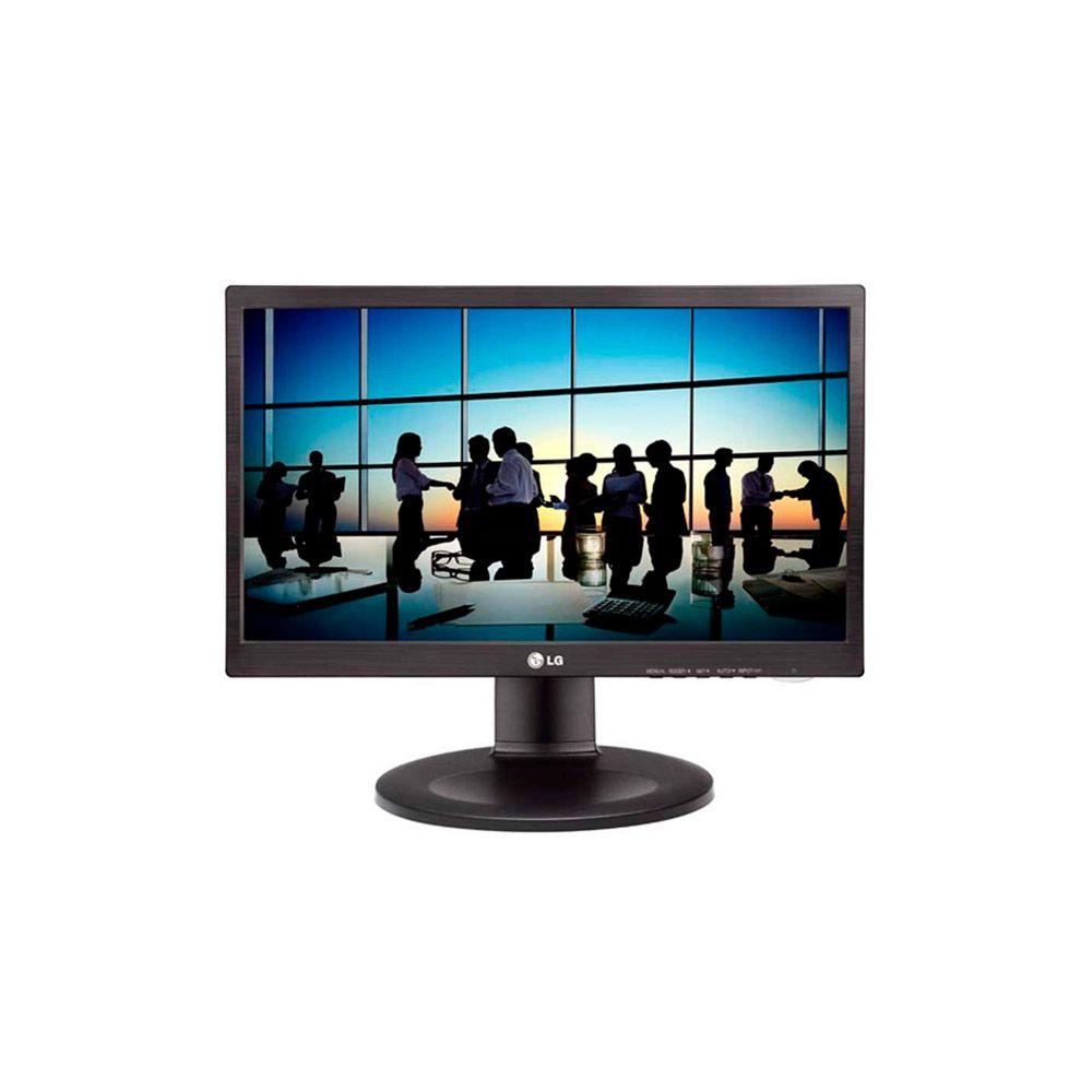 Monitor LG 19.5 LED com Ajuste de Altura Preto 20M35PD-M Pivotante
