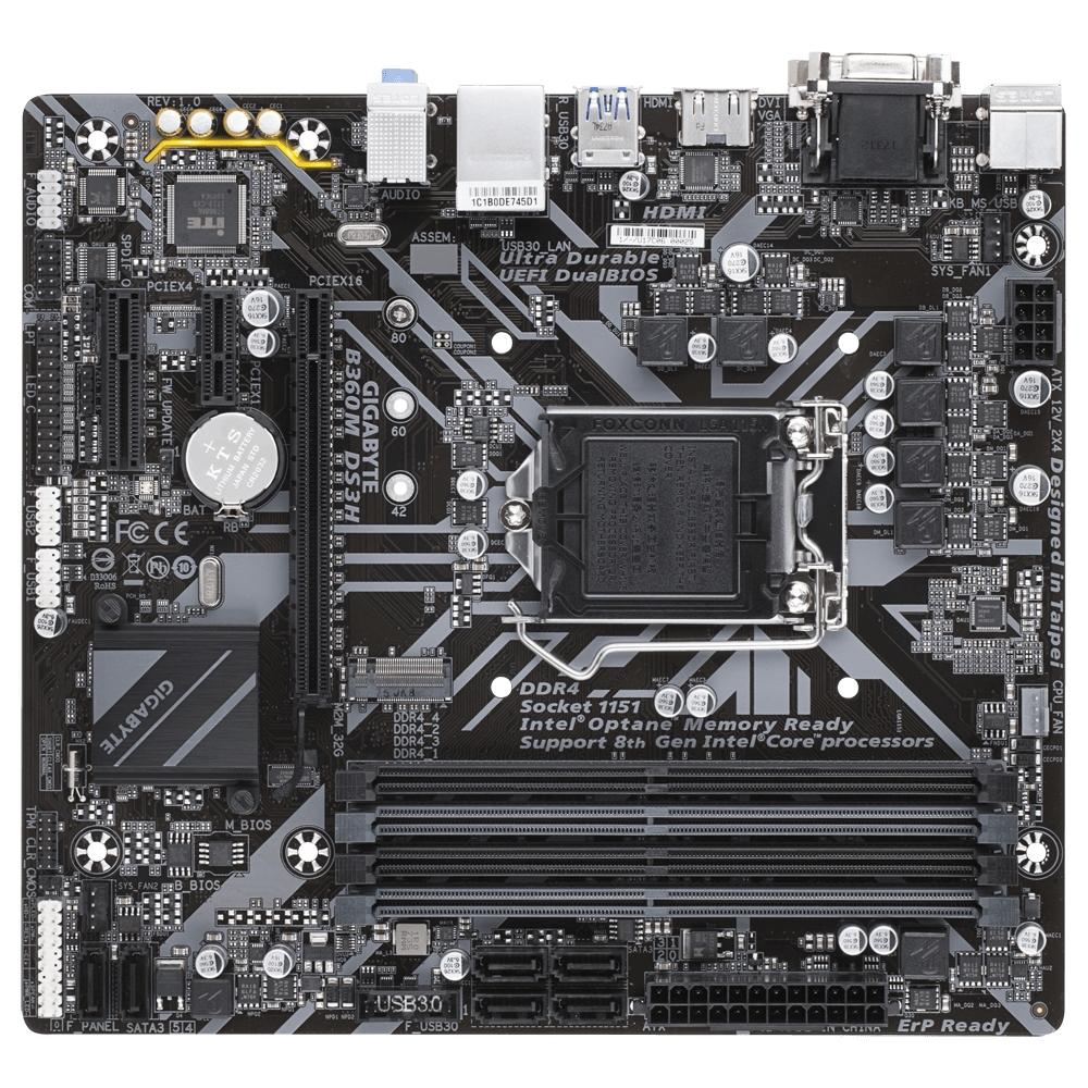 Mother Asrock B360M Fatality Performance DDR4 LGA 1151