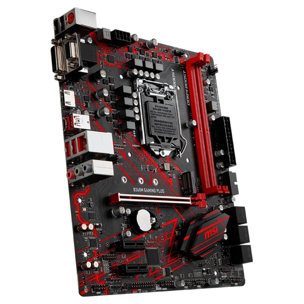 Mother Asus TUF B360M-PLUS GAMING/BR 4 slots DDR4 LGA1151
