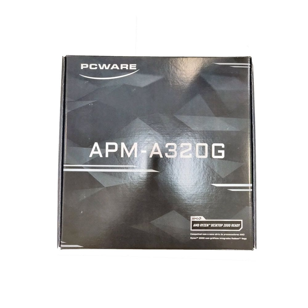 Mother Pcware APM-A320G AM4 DDR4 ( Gigabyte )