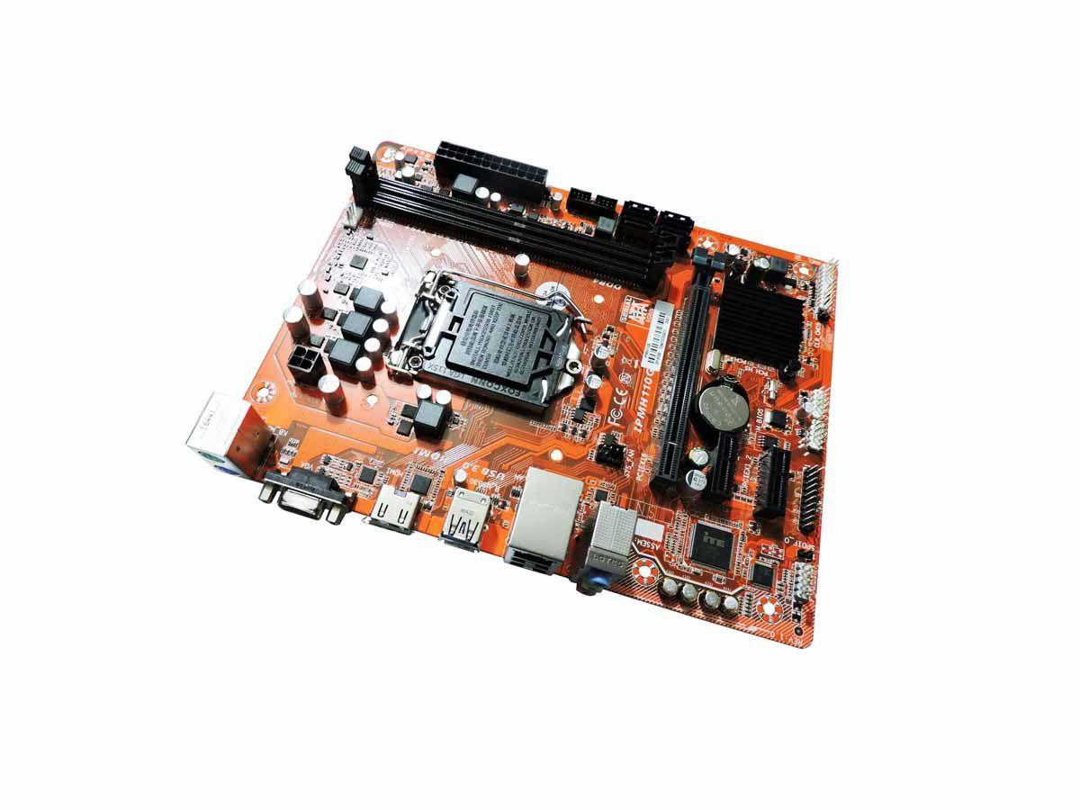 Mother Pcware IPMH110G DDR4 Hdmi/Vga/ 2xUSB3.0 LGA 1151  - Box Parda