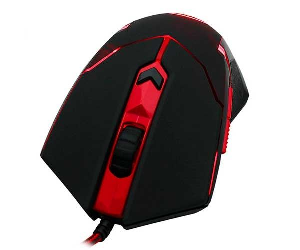 Mouse Gamer Redragon Centrophorus V3 3200 6 botões e 8 Ajustes de peso