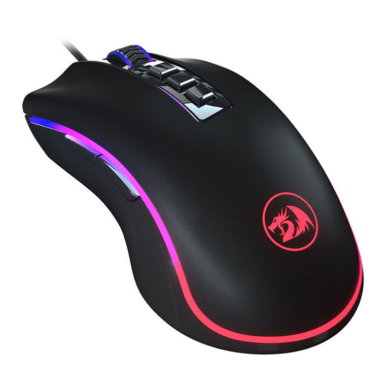 Mouse Gamer Redragon Chroma King Cobra M711-FPS  RGB 24000 DPI