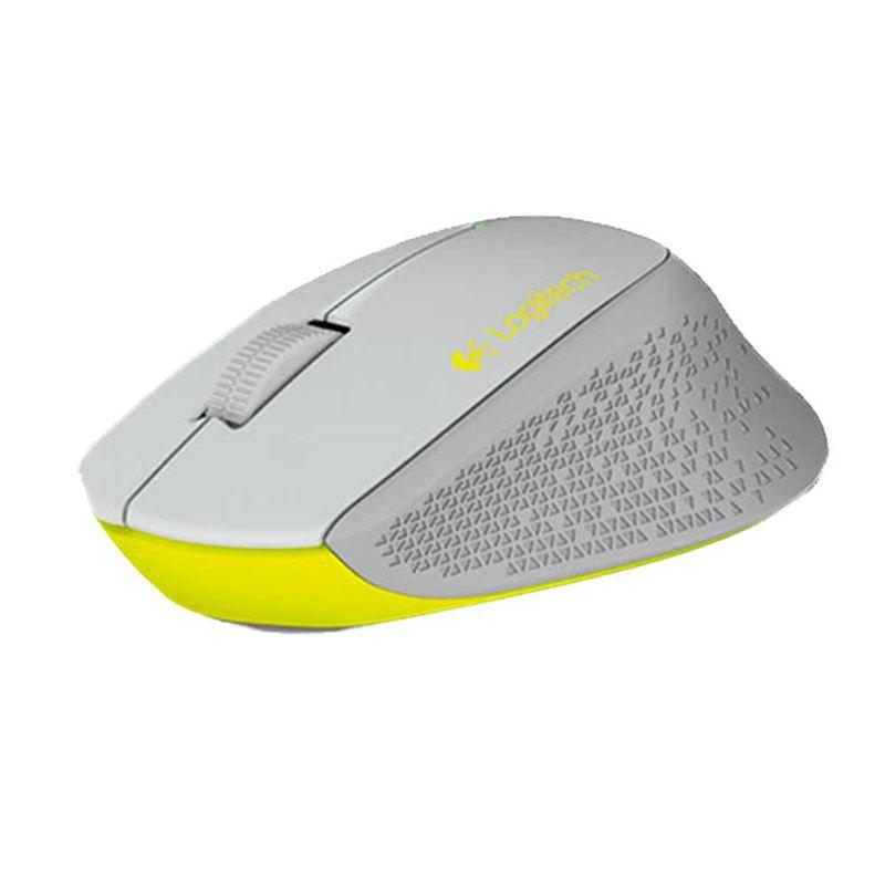 Mouse Óptico Sem Fio Logitech M280 Cinza 910-004285*