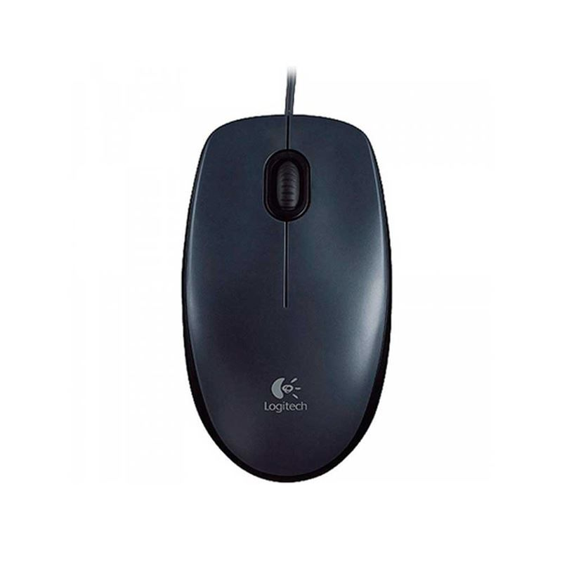 Mouse Óptico USB Logitech M90 Preto*