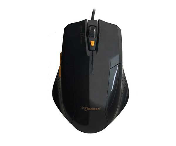 Mouse Óptico USB Maxxtro Thunder c/ Ajuste de Dpi Gamer JM-1201