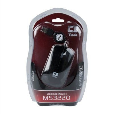 MOUSE USB RETR MS3220-2 AZUL C3T*