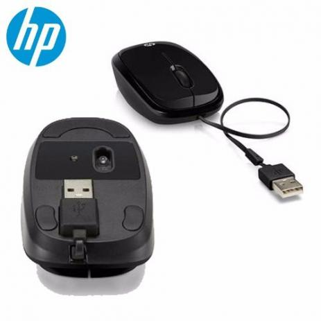 MOUSE USB RETRATIL X1250 VERMELHO HP