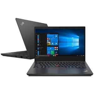 Lenovo PCs NOTE E14 AMD RYZEN 3 4300U 8GB 256GB SSD WIN 10 1 ANO OS - 20T70005BR