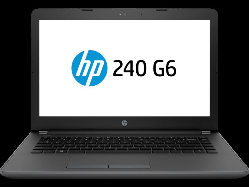 "NOTEBOOK HP 240 G6 - I3 7200U - 4GB DDR4 2133MHZ - HD 500GB - TELA 14"" - WIN PRO 64 - 1 ANO 6yh04la#ac4"