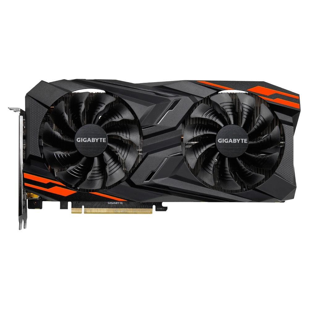 Placa de Vídeo Gigabyte AMD Radeon RX VEGA56 Gaming OC 8G - GV-RXVEGA56GAMING OC-8GD