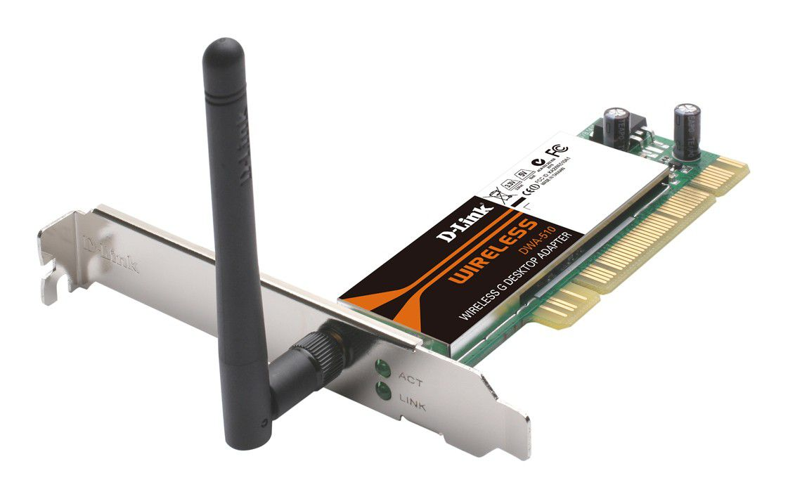 Placa PCI 54Mbps D-Link DWA-510 Wireless