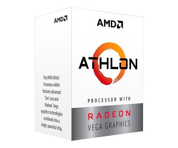 Processador AMD Athlon 200GE, Cache 5MB, 3.2GHz, AM4 - YD200GC6FBBOX - YD200GC6FBBOX