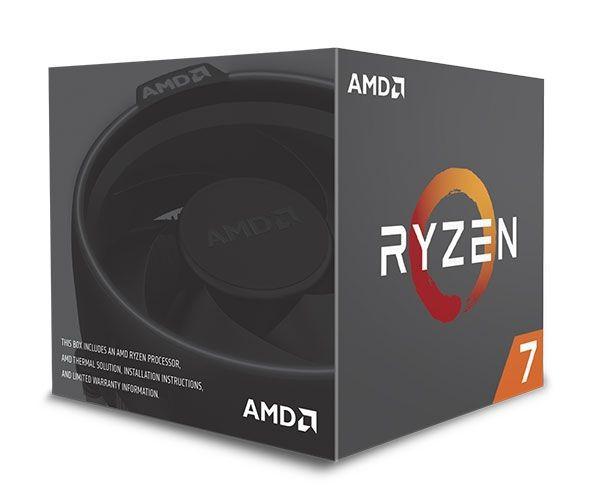 Processador AMD Ryzen 7 2700 Octa Core 20MB 4.1GHz  AM4 YD2700BBAFBOX