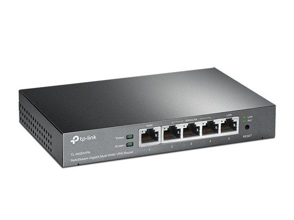 Roteador TP-Link TL-R600VPN Broadband VPN 4 portas Gigabit (SMB)