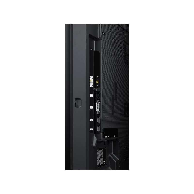 "SAMSUNG MONITOR PROFISSIONAL LED LFD 46"" UH46F5 SMART SIGNAGE, PRETO"