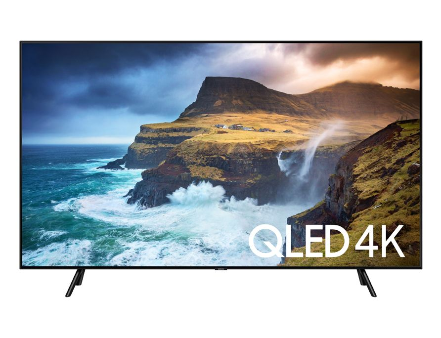 "SAMSUNG SMART TV QLED  55"" 4K Q70 PONTOS QUANTICOS, DIRECT FULL ARRAY 4X HDR1000, MODO AMBIENTE"