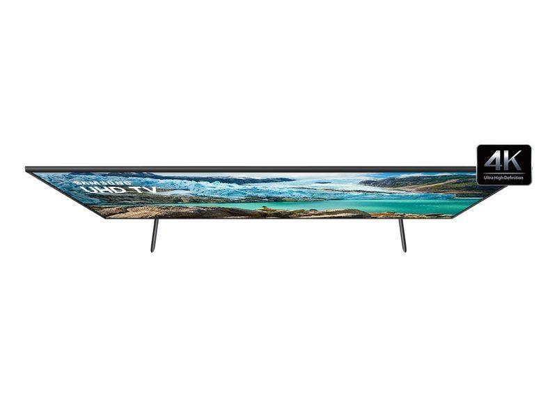 """SAMSUNG SMART TV UHD 4K RU7100 50"""", VISUAL LIVRE DE CABOS, CONTROLE UNICO E BLUETOOTH"""