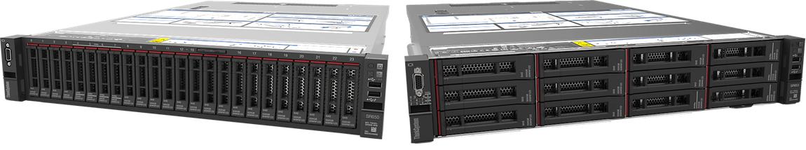 Servidor ThinkSystem SR650 / 2x Xeon Gold 5118 12C 105W 2.3GHz Processor / 2x32GB / OPEN BAY / 2x750W