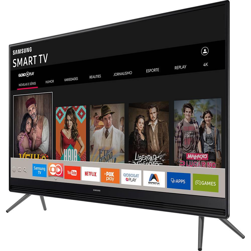"""Smart TV LED 55"""" Full HD Samsung 55K5300 com Plataforma Tizen, Conectividade com Smartphone"""