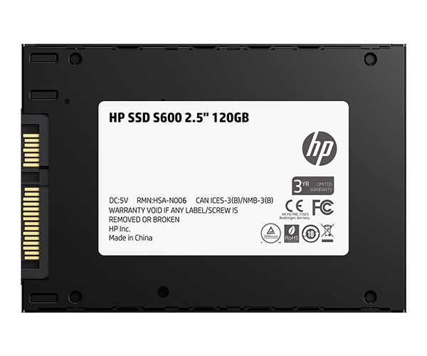 "SSD 120GB HP S700 2.5"" SATA III 6 GB/S 3D NAND 2DP97AA-ABC"