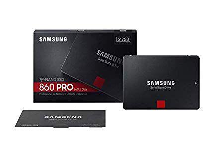 SSD 512GB Samsung 860 PRO SATA III 3D V-Nand - MZ-76P512BW
